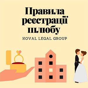порядок реєстрації шлюбу в Україні