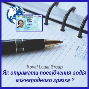 міжнародні водійські права